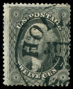 momen: US Stamps #36B Used F/VF