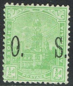 SOUTH AUSTRALIA 1899 GPO OS ½D