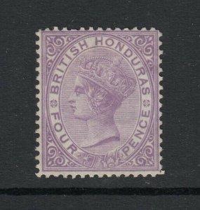 British Honduras, Sc 10 (SG 14), MNG (no gum)