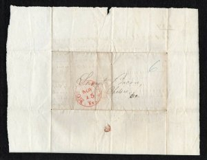1841 Insurance SFL preprinted and NICE - Fantastic 6 cent rate