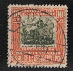 Ecuador Scott 308 Used ship stamp