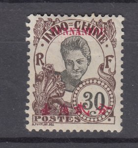 J28875, 1908 france office china yunnan fou mh #42 ovpt
