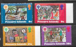 Pitcairn Islands #188-191 IYC Youth Drawings (MNH) CV$2.40