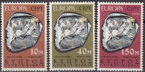 Cyprus #416-8  MNH  CV $3.95  (A19920)
