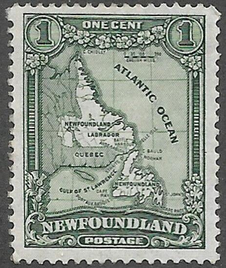 Newfoundland Scott Number 145 VF NH