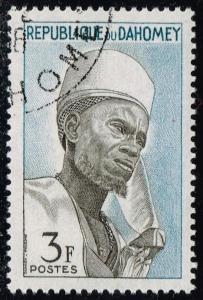 Dahomey #161 Bariba Chief of Nikki; CTO (0.25)