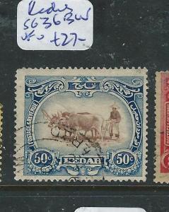 MALAYA KEDAH (P1205B) COW 50C  SG 36BW  VFU