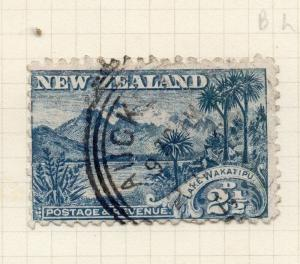 New Zealand 1899 Pictorial Issue Fine Used 2.5d. 276918