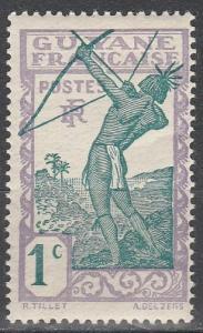 French Guiana #109 MNH (K92)