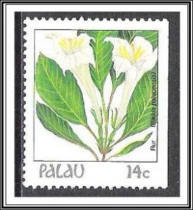 Palau #130 (v) Indigenous Flowers MNH