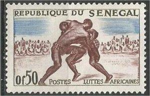 SENEGAL, 1961, MH 50c  Wrestling Scott 202