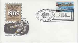 1989 Aviation Day WSE 89 Washington DC Pictorial Artmaster 1