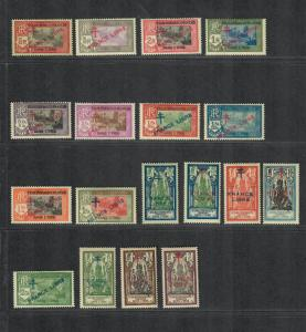 Fr. India Sc#157-176 M/H/VF, Partial Set, Cv. $376.85