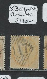 MALAYA PENANG  (PP2308B) INDIA USED IN 147  2A  SG Z41 SUPER STRIKE   VFU