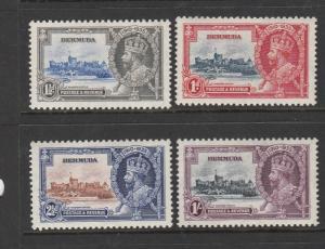 Bermuda 1935 Silver Jubilee LMM SG 94/7
