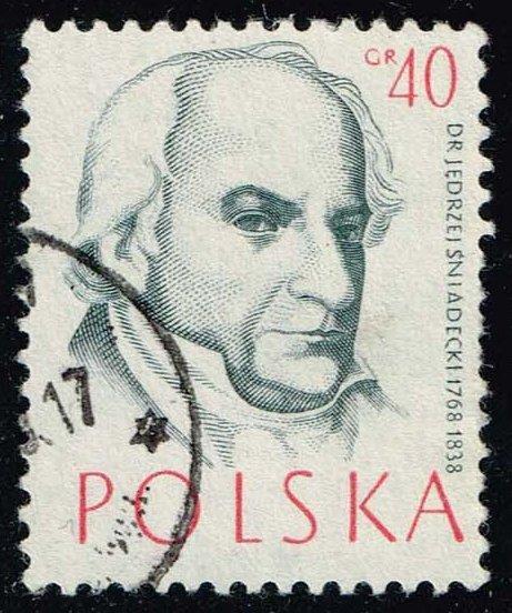Poland #771 Jedrzej Sniadecki; Used (0.25)