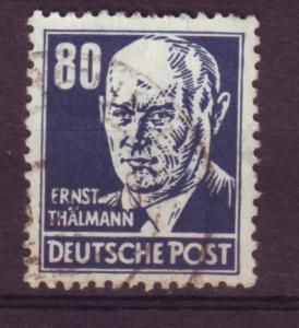 J15585 JLstamps 1953 germany DDR part of set used #134 thalmann wmk 297