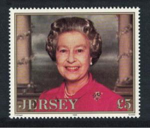 Jersey 70th Birthday of Queen Elizabeth II 1v ?5 SG#738