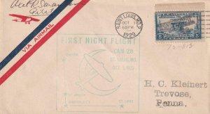 1929, 1st Night Flt., St. Louis, MO, See Remark (41334)
