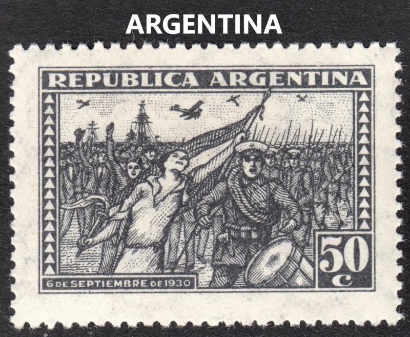 Argentina Scott 386  VF mint OG H.
