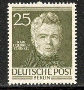 Berlin # 9N91, Mint Hinge Remain. CV $ 14.00