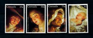 [100163] Grenada 2006 Art Painting Rubens Birth Christ  MNH