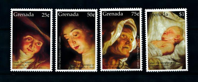 [100163] Grenada 2006 Art Painting Rubens Birth Christ  MNH