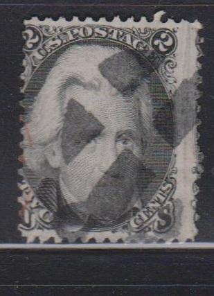 USA Scott # 73 Used - Andrew Jackson