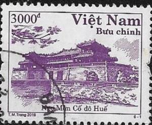 North Vietnam  2014 Ngo Mon (Gate of Noon) Hue  Used 3504 UNH