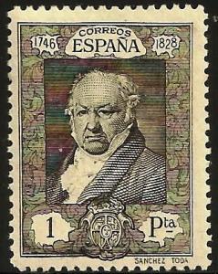 Spain 1930 Scott# 396 MH