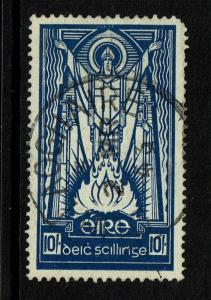 Ireland SC# 98, Used, Pulled Corner Perf - Lot 070217