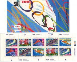 Canada - 1992 Olympic Summer Games Booklet #BK146b