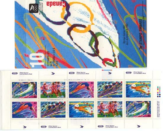 Canada - 1992 Olympic Summer Games Booklet #BK146b