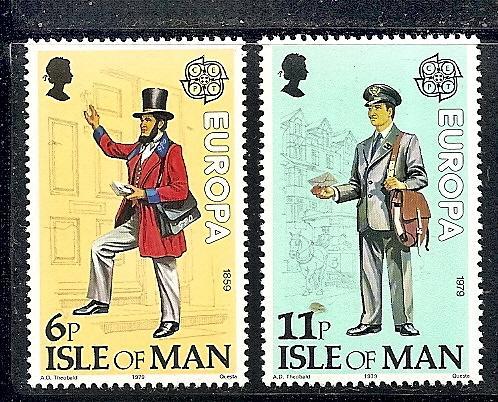 Isle Of Man MNH 152-3 Europa 1979