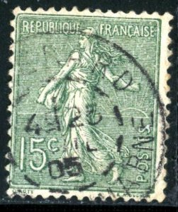 FRANCE #139 , USED FAULT - 1903 - FRAN120NS9