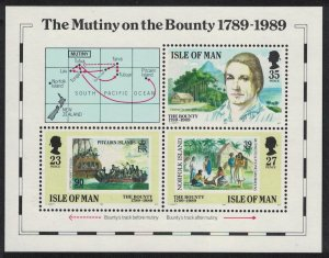 Isle of Man Bicentenary of the Munity on the Bounty MS SG#MS415