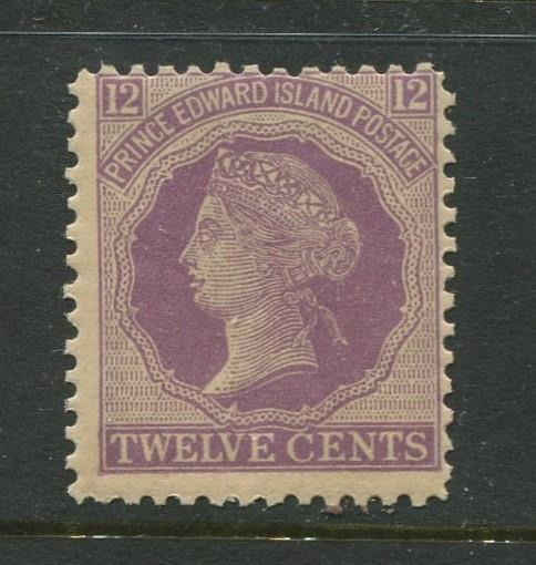 Prince Edward Is. -Scott 16 -QV Definitive Issue -18720 -MNH -Single 12c Stamp