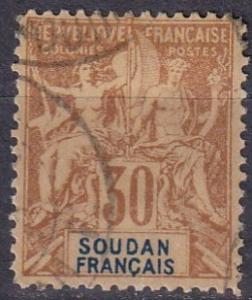 French Sudan #14  F-VF Used CV $40.00 (A19321)