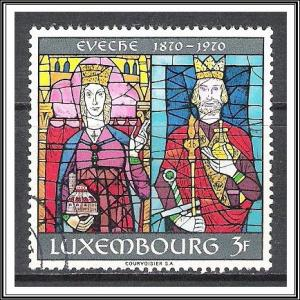 Luxembourg #491 Centenary of The Diocese Used