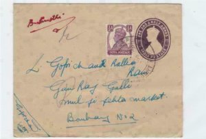 india 1949 bombay  stamps cover ref r14528