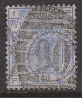 Great Britain Sc#82 Plate 21