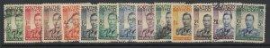 Southern Rhodesia, Scott 42-54 (SG 40-52), used