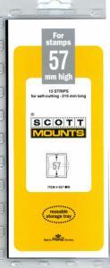 Mount Scotts Black, 57mm strip 215mm, (00937B)