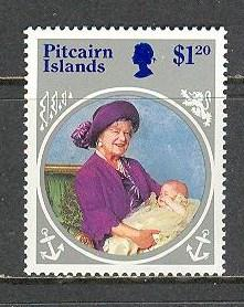 PITCAIRN ISLAND Sc# 256 MNH FVF Queen Mother Birthday