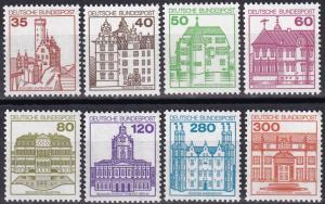 Germany #1308-15 MNH   CV $11.95  Z705