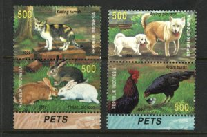 Indonesia  871-74 Mint NH VF 1999 PD