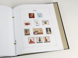 DAVO Luxe Hingless Album Europa II Cept 1970-1979