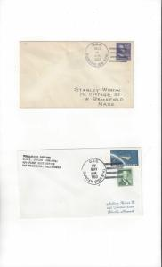 US Navy USS Duncan DD 874  2 Covers