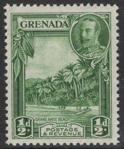 GRENADA SG135 1934 ½d GREEN MTD MINT