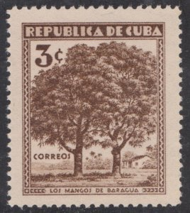1933 Cuba Stamps Sc 312 The Mangos of Baragua MNH